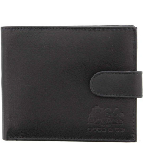 COBB & CO Lewis RFID Blocking Leather Men Wallet