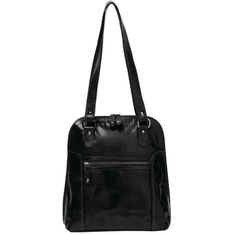 COBB & CO Poppy Leather 2 in 1 Convertible Backpack/Shoulder Bag