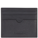 COBB & CO Jay RFID Leather Card Holder BLACK