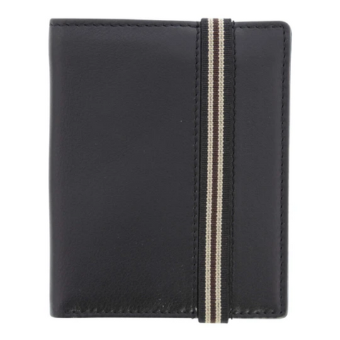 COBB & CO Fabian Leather RFID Safe Elastic Wallet