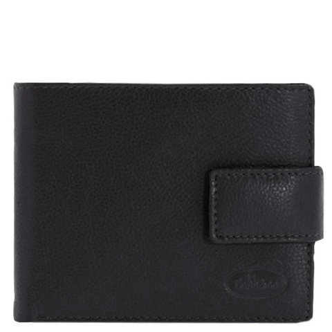 COBB & CO Jones RFID Safe Leather Wallet BLACK