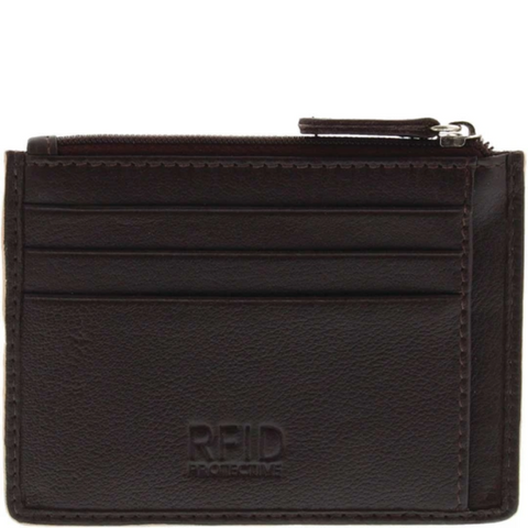 COBB & CO Clayton RFID Leather Card Holder