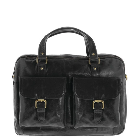 COBB & CO Soho Mini Leather Briefcase