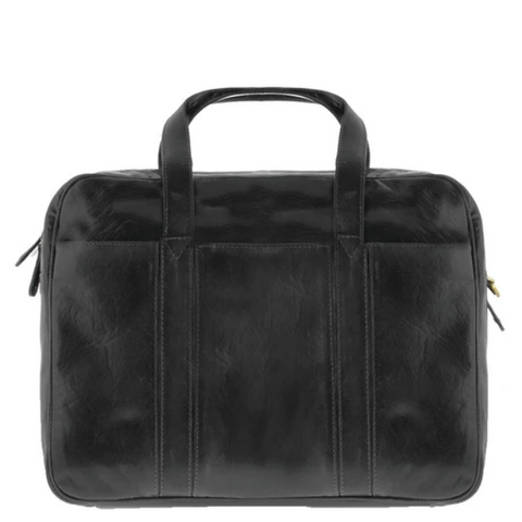 COBB & CO Kemp Leather Laptop Briefcase