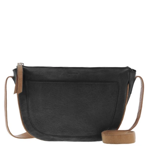 COBB & CO Windsor Leather Half Moon Crossbody