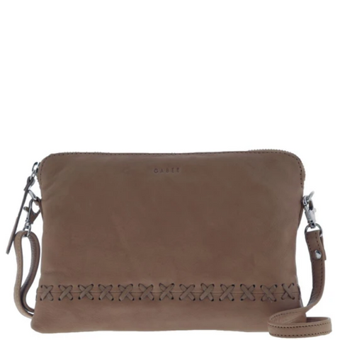 GABEE Addison Soft Leather Pouch Crossbody