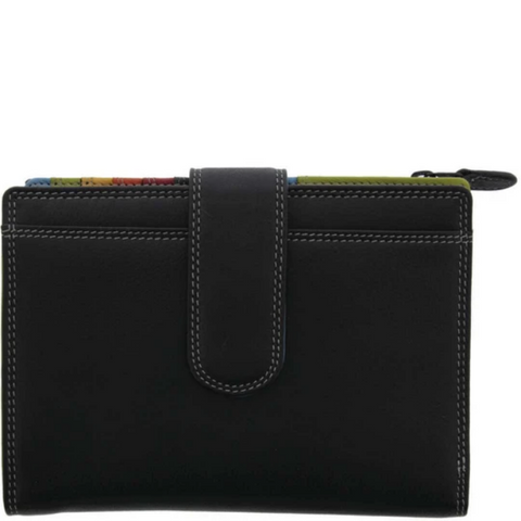 GABEE Dubai Multi-Colour RFID Blocking Leather Wallet