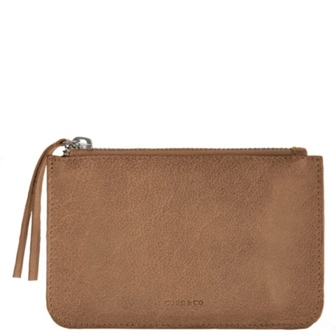 COBB & CO Kiama Leather Coin Pouch