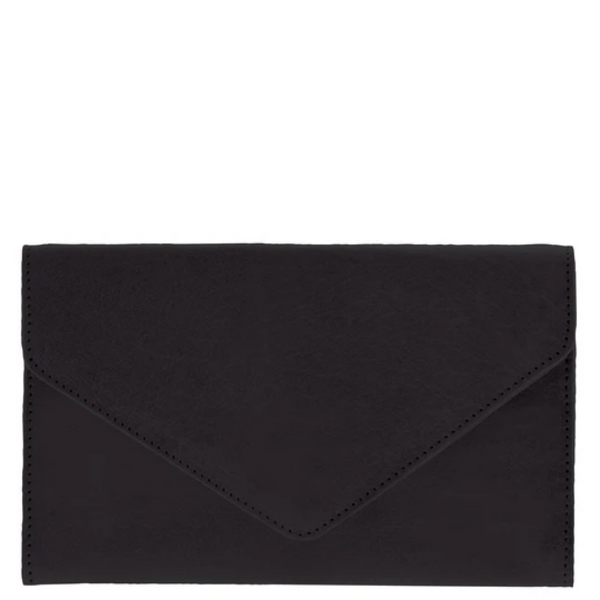 COBB & CO Hamilton Leather Envelope Snap Closure Wallet