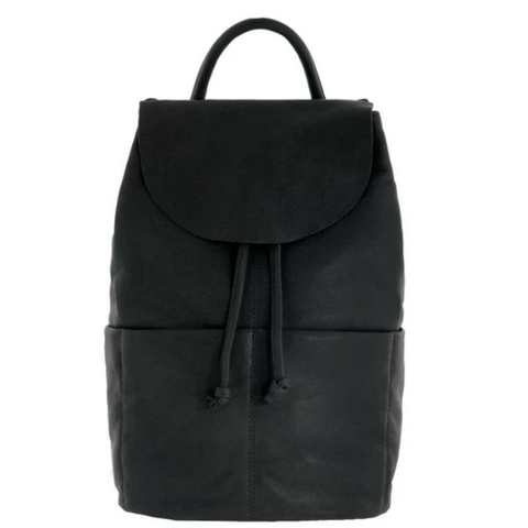 GABEE Bonnie Drawstring Leather Backpack