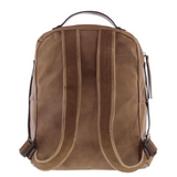 GABEE Lennox Vegan Leather Woven Backpack