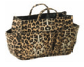 Bag Caddy Handbag Organiser Small Animal Print