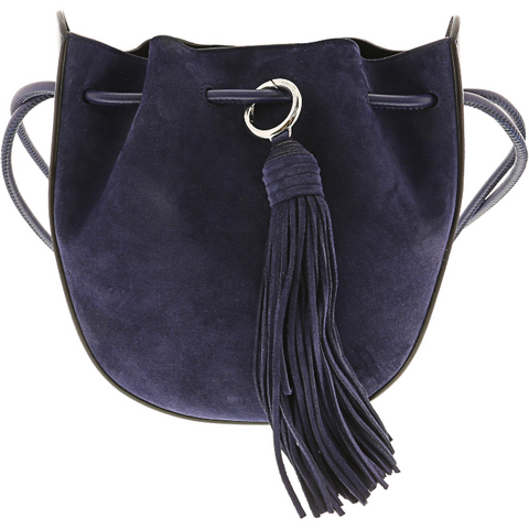 REBECCA MINKOFF Lulu Crossbody Leather Cross Body Bag TWILIGHT PURPLE