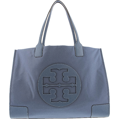 Tory Burch Ella Nylon Top-Handle Tote Blue