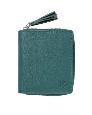 STITCH & HIDE LEATHER MIA SNAP CLOSURE WALLET