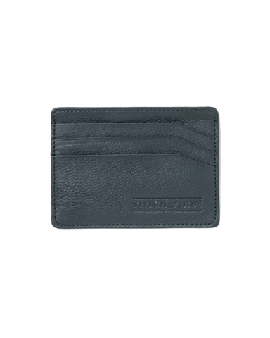 STITCH & HIDE LEATHER ALICE CARDHOLDER DEEP SEA BLUE