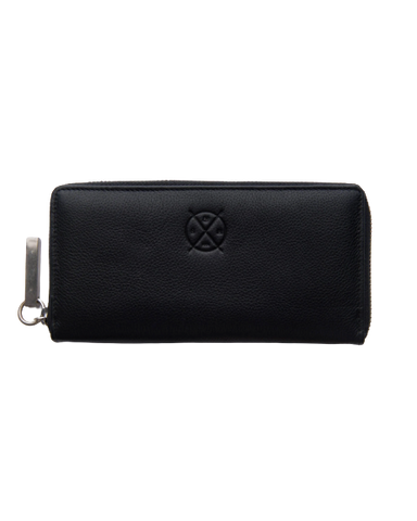 STITCH & HIDE LEATHER CHRISTINA ZIP AROUND WALLET