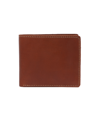 STITCH & HIDE LEATHER CONNOR WALLET TAN