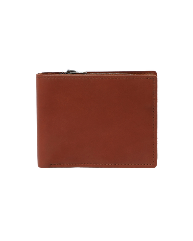 STITCH & HIDE LEATHER BILLY WALLET TAN