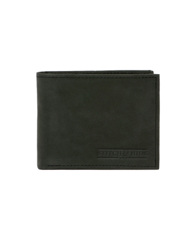 STITCH & HIDE LEATHER CASPER WALLET