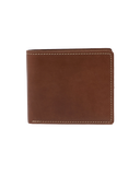 STITCH & HIDE LEATHER CONNOR WALLET BROWN