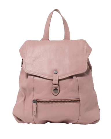 Stitch & Hide Leather Willow Backpack Dusty Pink - FREE WALLET POUCH