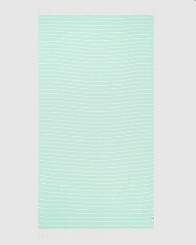 Miz Casa & Co Serento Turkish Towel Mint Green