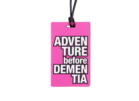 Senior Moments Luggage Tag