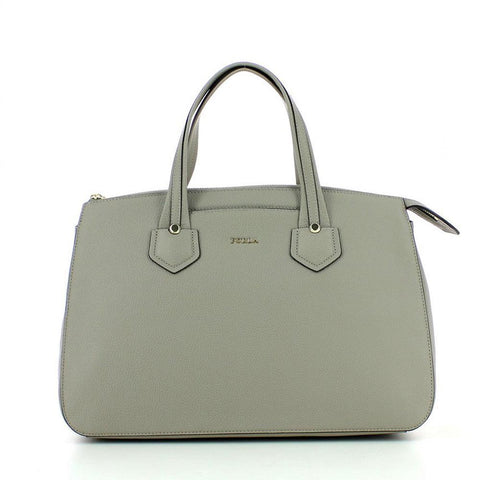 Furla Giada Leather Carryall Large Satchel Bag