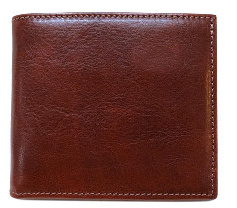 FLOTO VENEZIA LEATHER WALLET VECCHIO BROWN