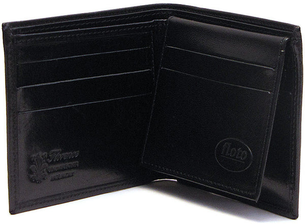 FLOTO Venezia Leather Wallet Black