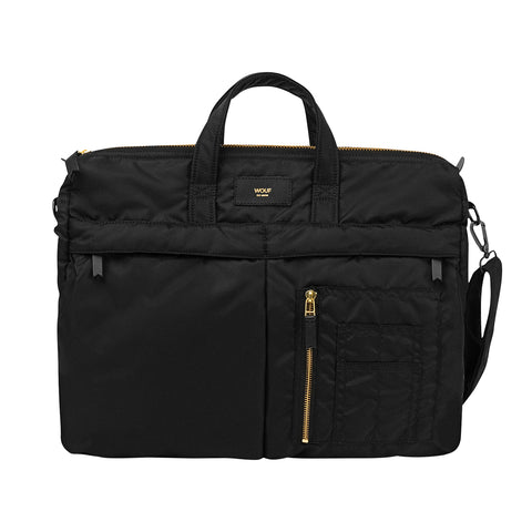 WOUF Bomber Bag BLACK