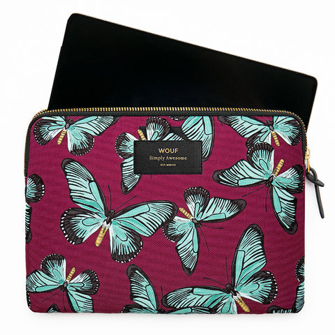 Wouf Ipad Sleeve Butterfly