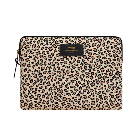 Wouf Ipad Sleeve Savannah Pink Leopard