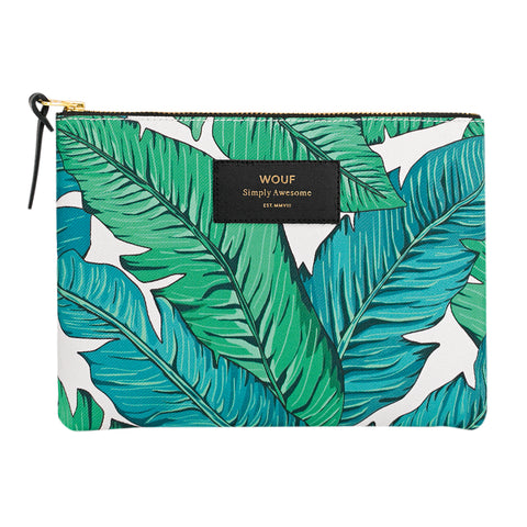 Wouf Large Pouch Clutch Tropical