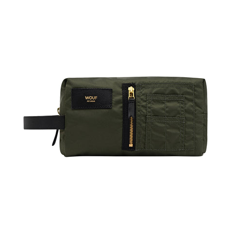 WOUF Travel Case Bomber Camo Khaki Green