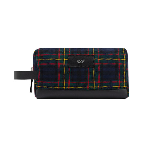 Wouf Travel Case Scotland Navy Blue