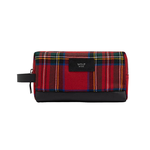 Wouf Travel Case Scotland Red