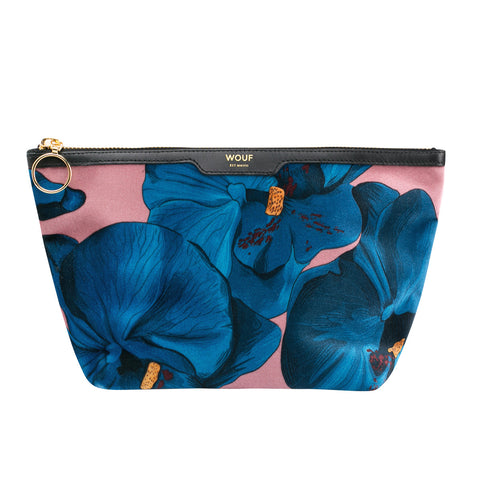 Wouf Velvet Beauty Case Orchidee