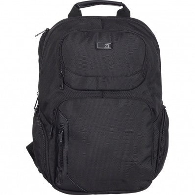 ZOOMLITE MANHATTAN SIDE-LOADING LAPTOP BACKPACK BLACK