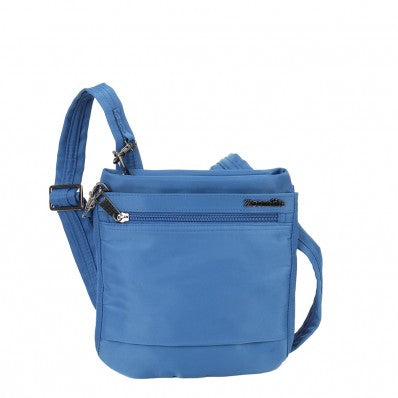 ZOOMLITE METROSHIELD ANTI-THEFT SLIM CROSSBODY BAG BLUE