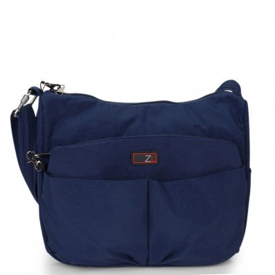 ZOOMLITE ANTI-THEFT CROSSBODY SHOULDER BAG BLUE