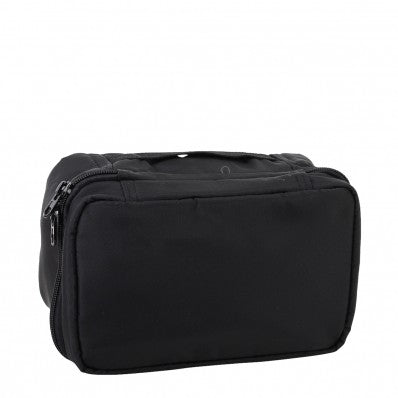 ZOOMLITE CAYMAN HANGING TOILETRY BAG BLACK