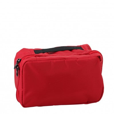 ZOOMLITE CAYMAN HANGING TOILETRY BAG RED