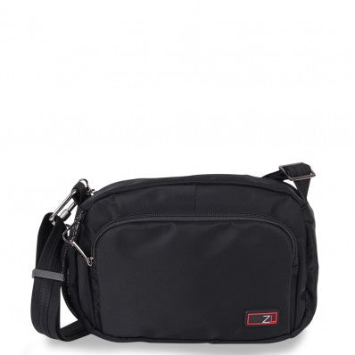 ZOOMLITE ANTI-THEFT ESSENTIALS TRAVEL CROSSBODY BAG BLACK