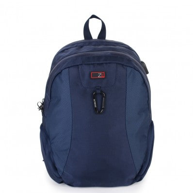 ZOOMLITE ANTI-THEFT SMALL BACKBACK NAVY BLUE