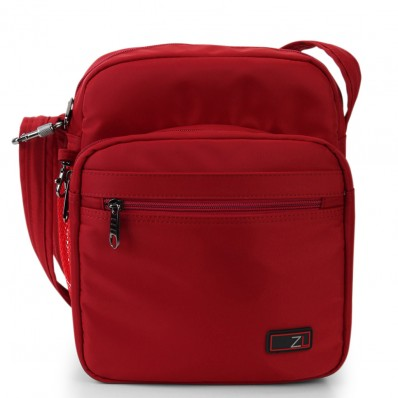 ZOOMLITE METROSHIELD ANTI-THEFT MESSENGER BAG RED