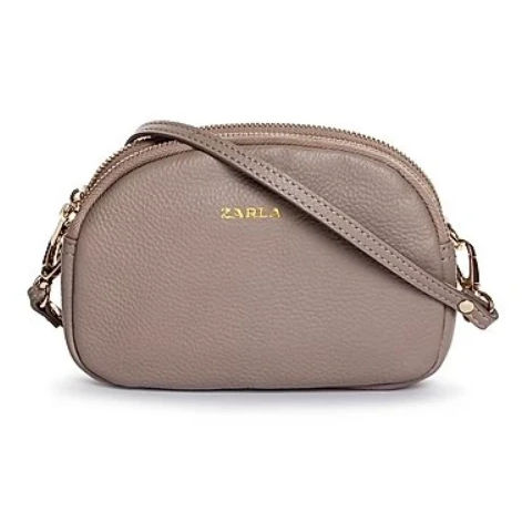 ZARLA LEATHER GABBY CROSSBODY BAG