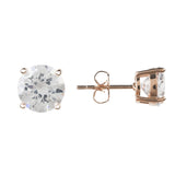 LATELITA LONDON Solitaire CZ Earring rosegold