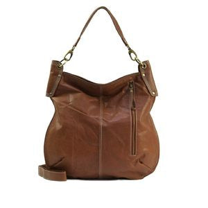 MANZONI Crunch Leather Sling Bag (Style A133) SALE - TAN